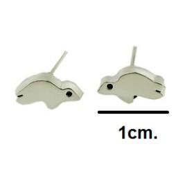 Small silver 0.925 earrings